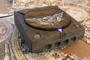 Une superbe Dreamcast modifiée.