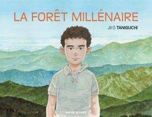 La forêt millénaire de Jirô Taniguchi : couverture