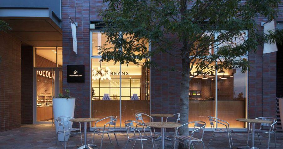 La boutique Vanilla Beans de Yokohama. © 2015 chocolatedesign company