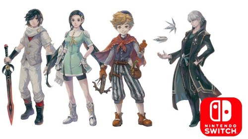 Lost Sphear - Square Enix ©
