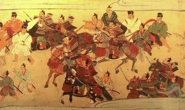 Représentations de samouraï durant la période de Muromachi