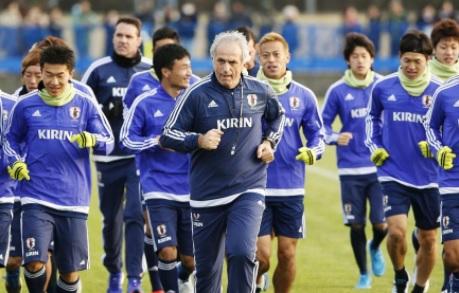 Entrainement football Japon