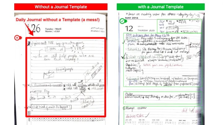 daily_journal_template_comparison_with_without
