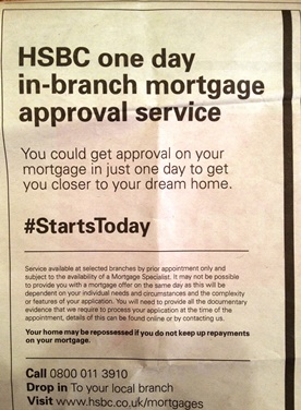 HSBC one day mortgage approval to reduce home buyer stress