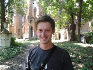 Валентин Чернявський – ведучий, журналіст ТРК «Рось».