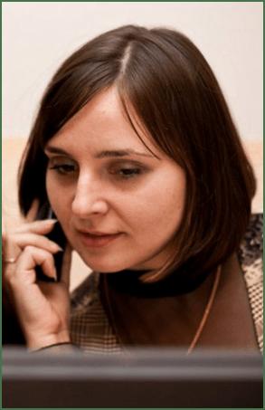 """Світлана Копійка – журналіст газети """"Нова Доба"""", виховує сина"""