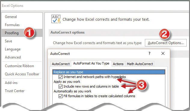 Microsoft Excel How To Turn Off Excel S Autoformat Feature