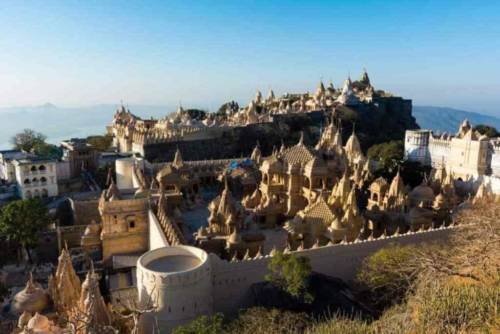 How to travel overland from Europe to Asia – everything you need to know about routes, borders and visas - Palitana - India - credit Lost with Purpose