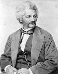1870 portrait of Frederick Douglass