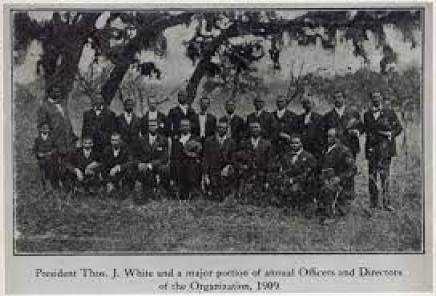 Group of African American in outdoor setting