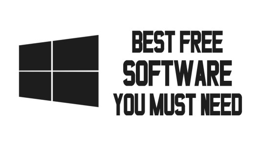 Best Free Software For Windows