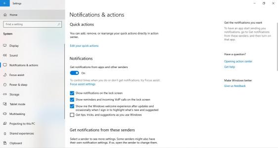 windows 10 tips & tricks suggestions off