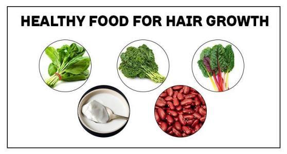 healthy food for hair growth