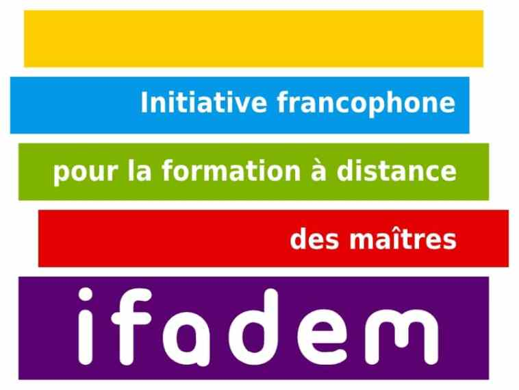 formation de l'initiative francophone pour la formation à distance des maitres