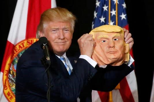 Candidat républicain Donald TRUMP