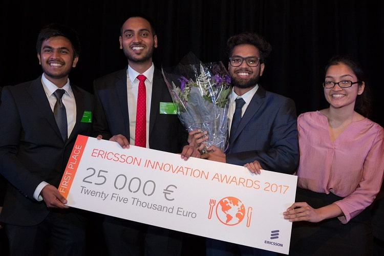 Concours Ericsson innovation Awards 2018/Ericsson Innovation Awards 2018