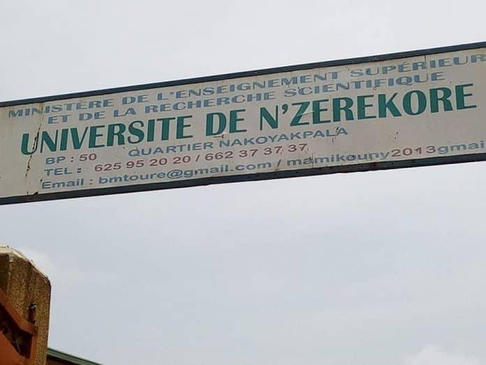 Démarrage des cours à l'université de N'zérékoré
