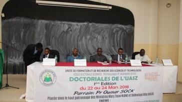 Doctoriales de l'UASZ