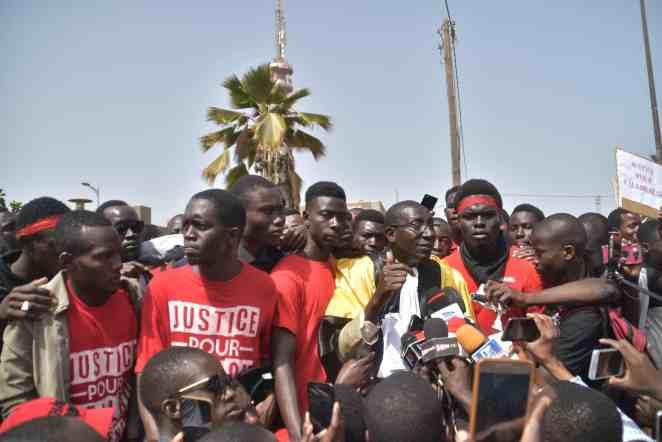 Marche Nationale des étudiants