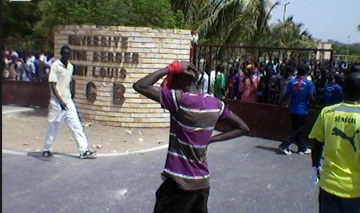 Grève illimitée des étudiants reconduite à l'UGBL