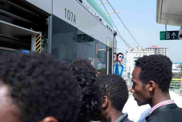 tramway d'Afrique subsaharienne