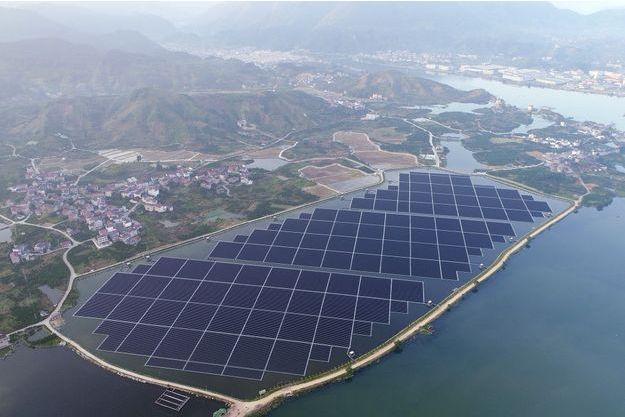 centrale solaire flottante