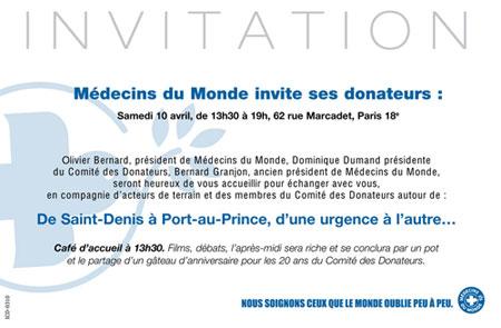 Carton Invitation 2010