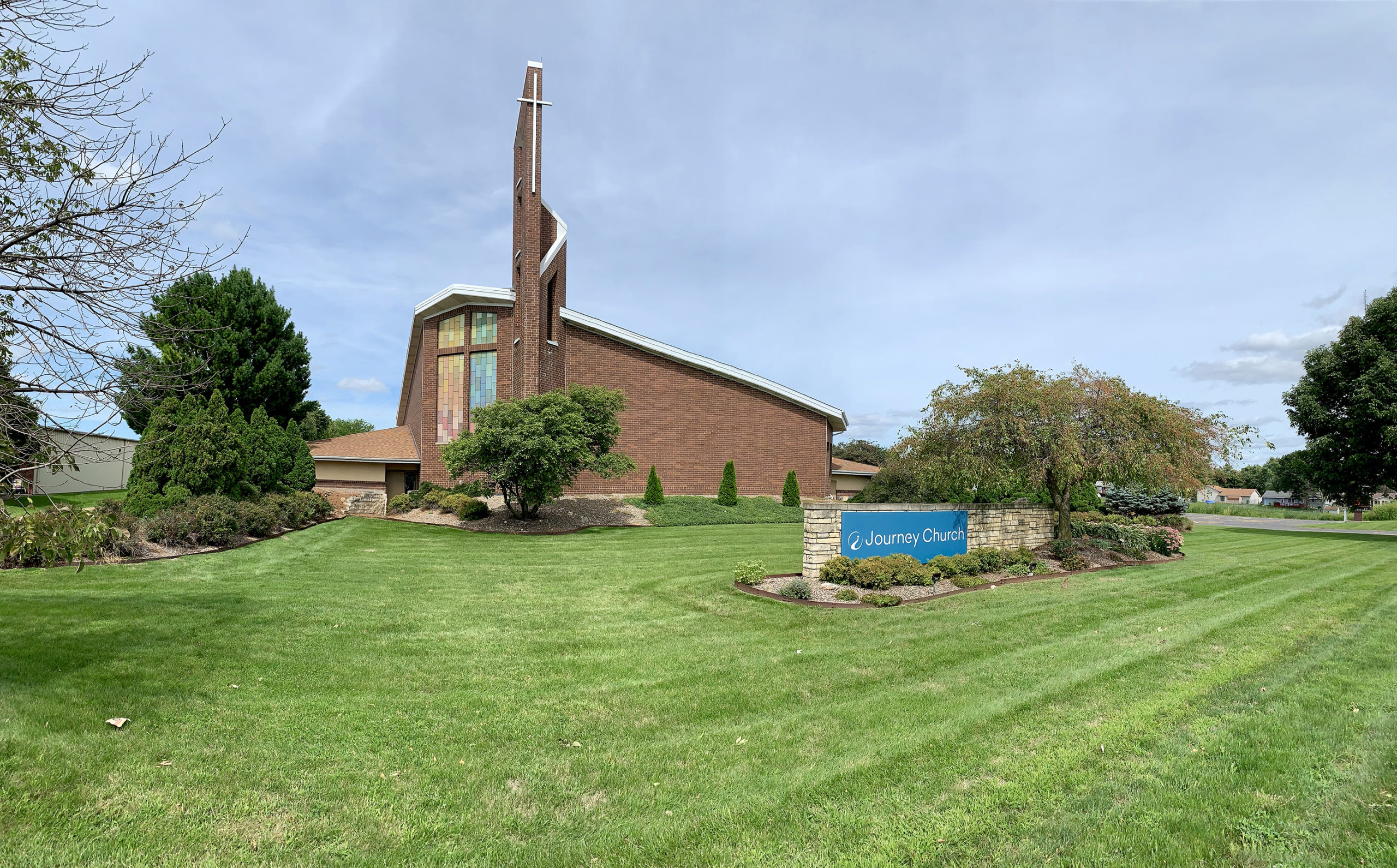 Journey Church front image - history page usage