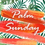 palm sunday icon graphic