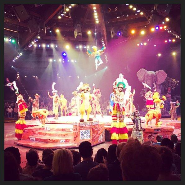 Disney World, Orlando, Florida, Animal Kingdom, Festival of the Lion King