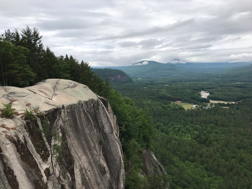 View from top of Cathedral Ledge
