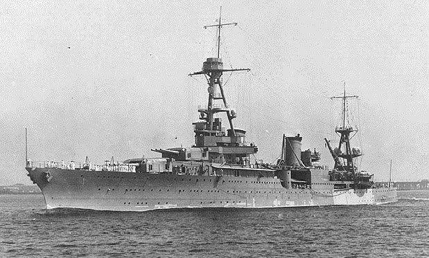 The USS Houston