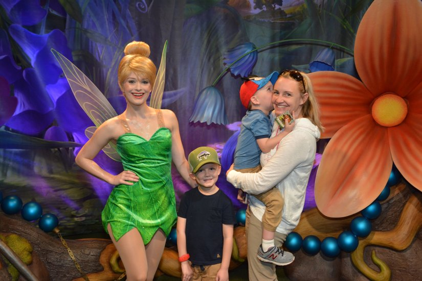 Tinkerbell with family