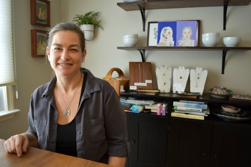 Julie Booras of Heart and Stone Jewelry
