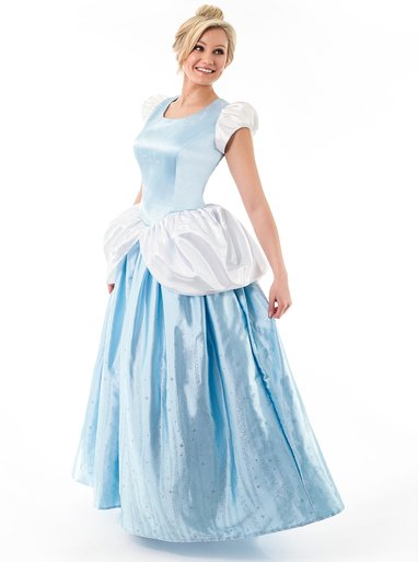 Cindarella dress from Mom Approved Costumes
