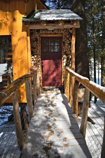 Walkway to the front door
