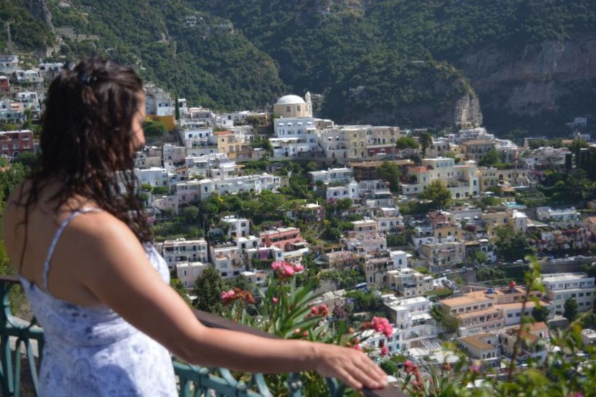 outlook on the amalfi coast