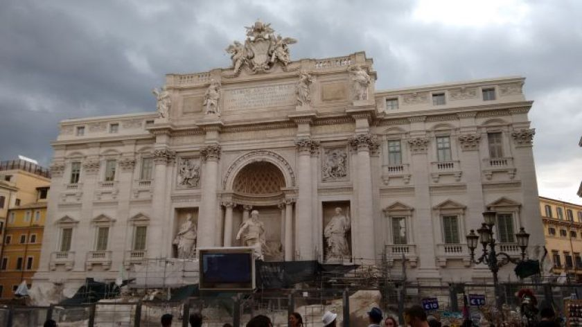 day 1 of our 4 days in rome trip