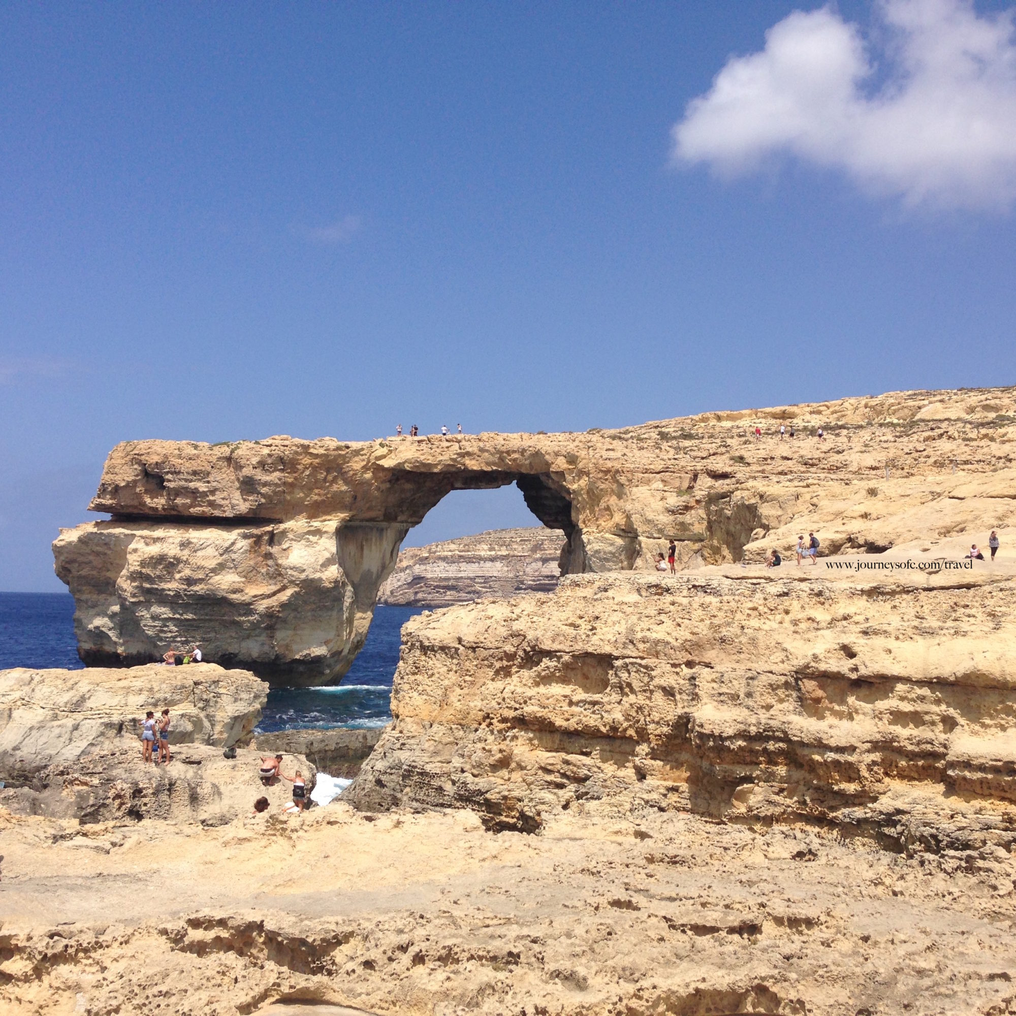 visit Malta - Azure Window