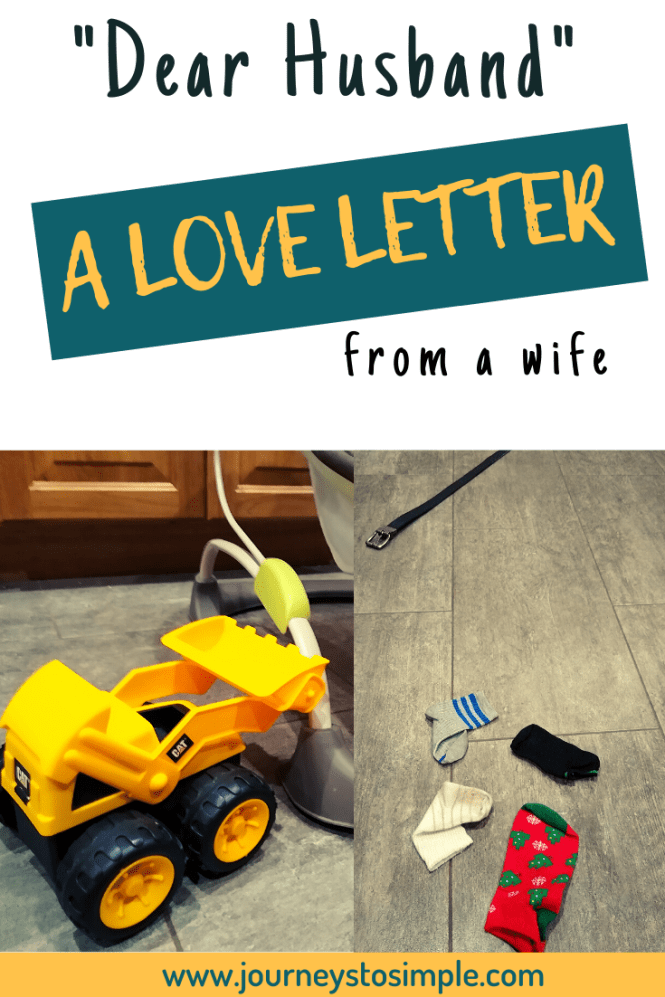 Love letter to husband