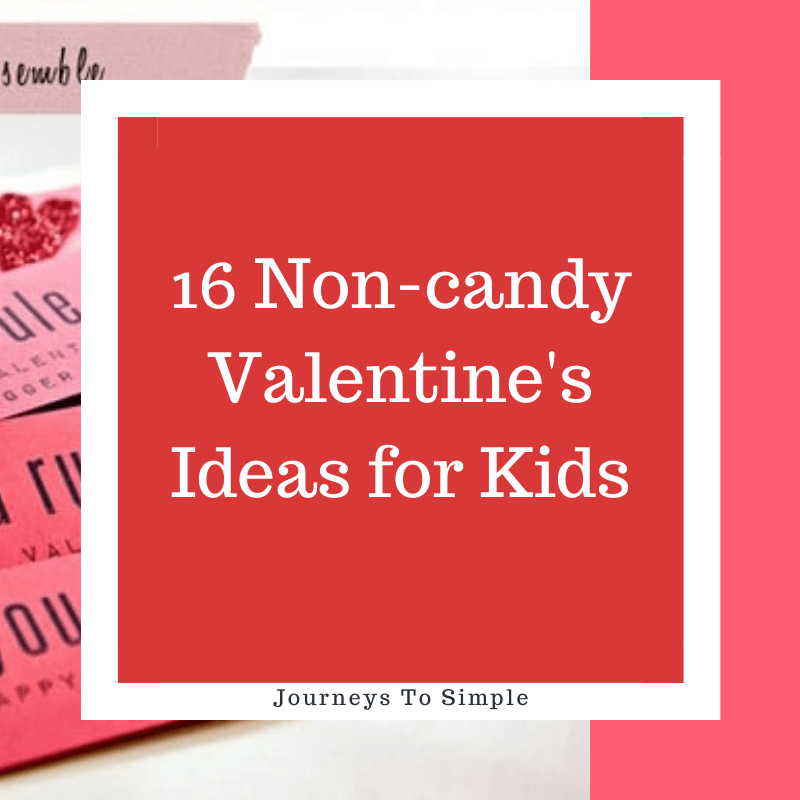 16 non-candy Valentine's ideas for kids