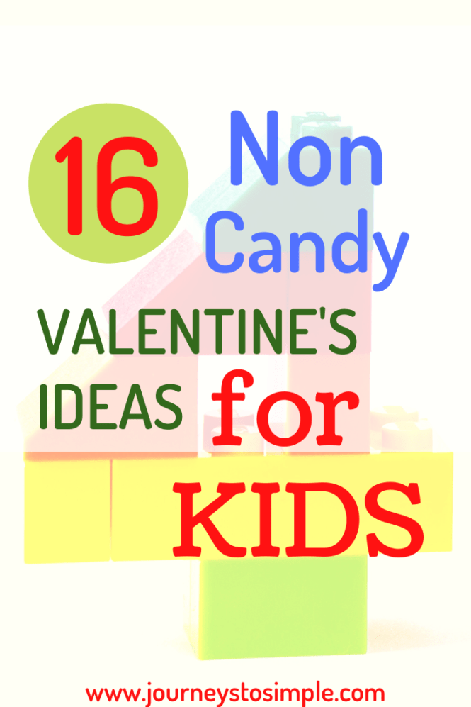 DIY non candy valentines ideas for kids