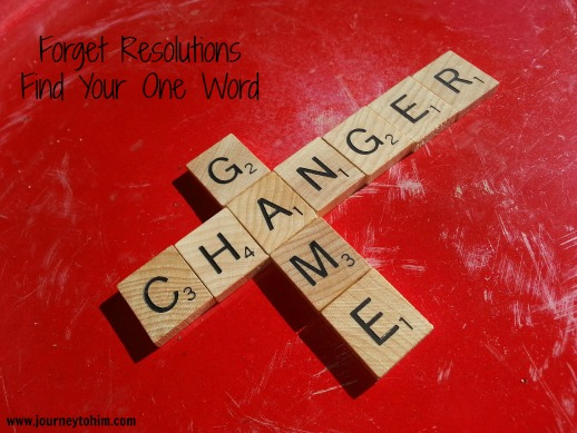 Forget Resolutions Find Your One Word Game Changer