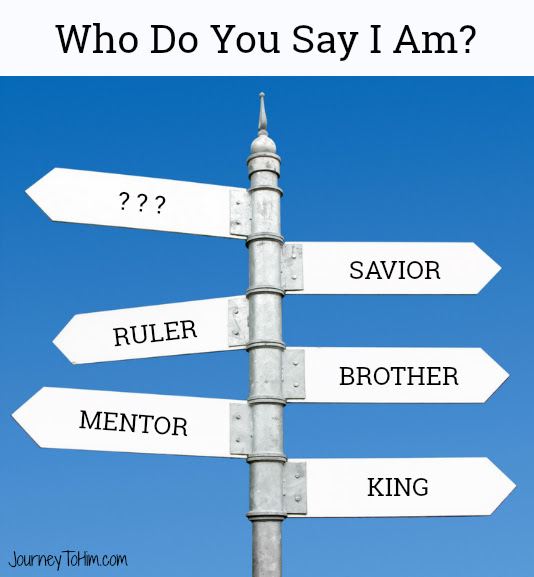Who Do You Say I Am Post Graphic