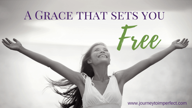 There is a grace that will set you free. It's a gift waiting for you. Read more here about what the Bible tells us about that freedom. {Free printable bookmark!}