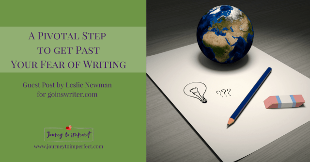 Have you ever had trouble finding the courage to call yourself a writer? Do you feel the calling, but have no idea how to proceed? Click here to learn about a pivotal step you can take to get past the fear!