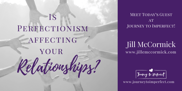 Join me today as my friend, Jill McCormick takes a look at four ways perfectionism impacts our friendships. The great thing is she doesn't just leave us holding those revelations and wondering what to do. She reminds us what God says about each one, and she gives us strategies the will help us move forward!