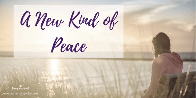 There's a peace waiting just for you. It's so full and rich and beyond what you can imagine. Join me today to find out more.
