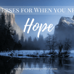 7 Verses for When You Need Hope