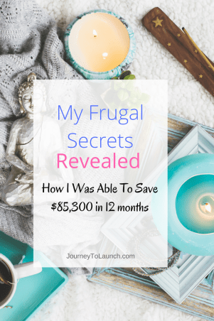 My Frugal Secrets Revealed